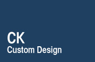 CK Custom Design Logo